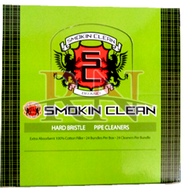 Smokin Clean Hand Bristle Pipe Cleaners Wholesale