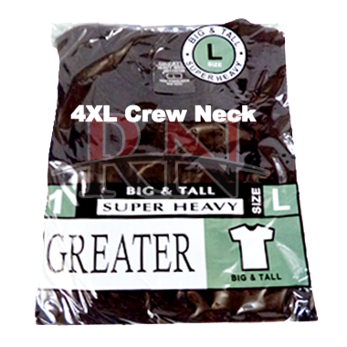 Greater Black Crew Neck T-Shirts Wholesale