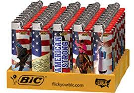 BIC Americana Wholesale Lighters