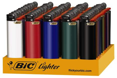 BIC | REGULAR LIGHTER - 50PC