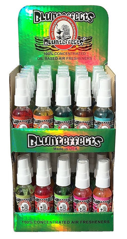 BLUNTEFFECTS | AIR FRESHNER BOTTLE ASSORT. 1OZ - 50PC