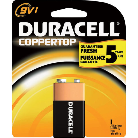 DURACELL | COPPERTOP 9V