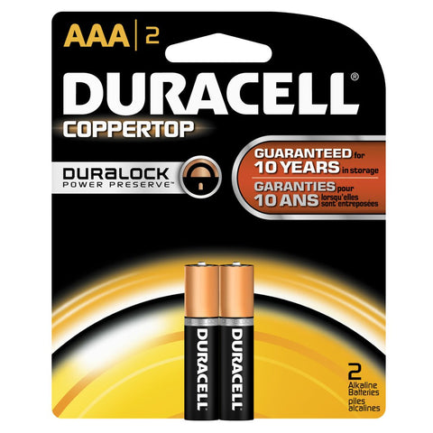 DURACELL | COPPERTOP AAA2