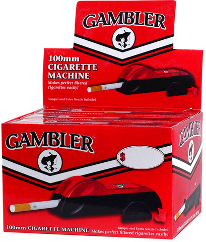 GAMBLER | 100MM CIGARETTE MACHINE INJECTOR  - 6CT