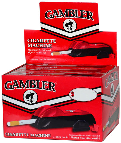 GAMBLER | KING SIZE CIGARETTE MACHINE INJECTOR - 6CT