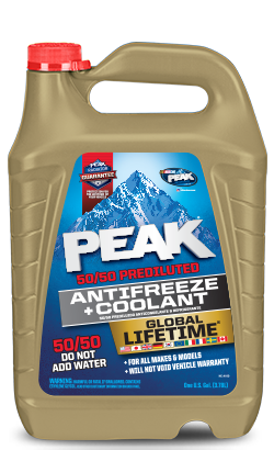 Peak Global 50/50 Antifreeze Wholesale Chicago