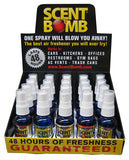 SCENT BOMB | AIR FRESHENER ASSORTMENT 10Z  - 20PC