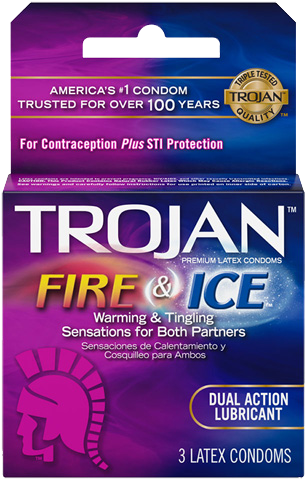 TROJAN | FIRE & ICE CONDOMS 3CT - 6PC