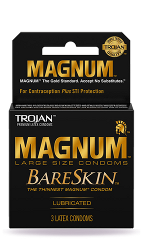TROJAN | MAGNUM BARESKIN CONDOMS 3CT - 6PC