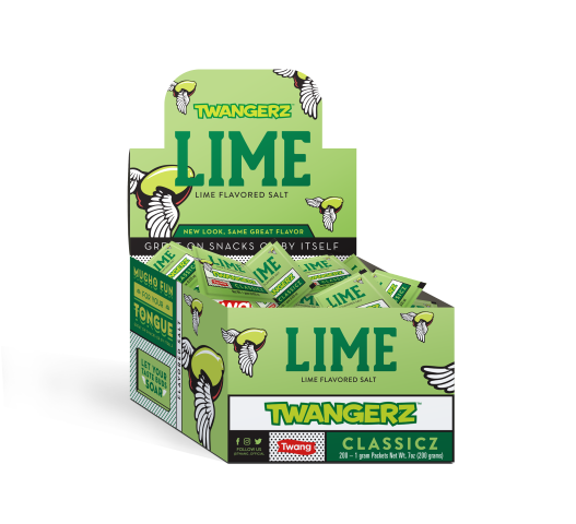 TWANGERZ TWANG | LIME SALT 1G/PACKETS - 200PC