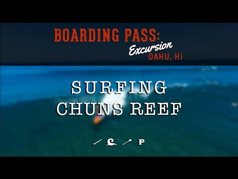 Surfing Chuns Reef