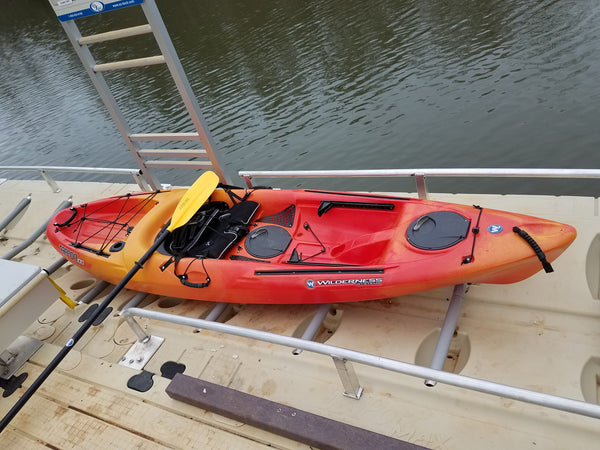 Anderson County Launches 2nd ADA Kayak Area