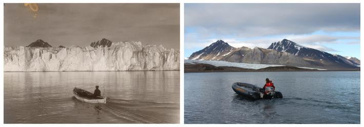 Pictures Show Climate Change's Dramatic Arctic Impact