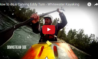 Video: How To Do A Carving Eddy Turn