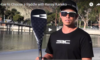 How to Choose a Paddle with Kenny Kaneko