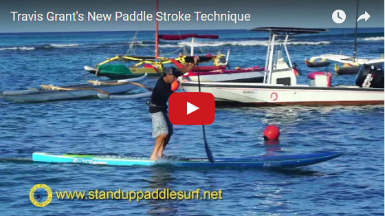 Travis Grant's New Paddle Stroke Technique