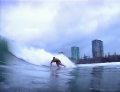 "Mick Fanning In ""Fanning The Fire"""