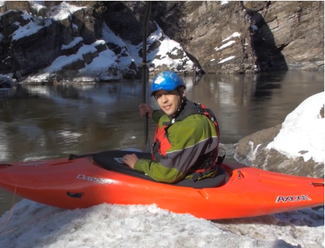 Kayaker Runs For Congress In Amazing Campaign Video