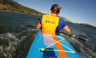 Paddling Surfski with a Legend
