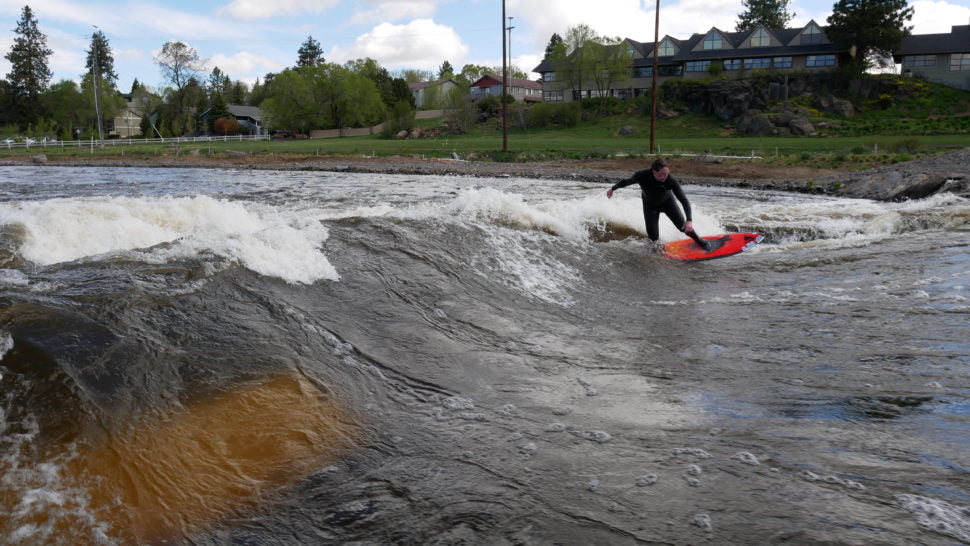 How to Start River Surfing