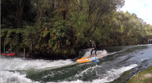 SUP Adventure in New Zealand
