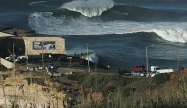 Thrill to 90 Seconds of Nazaré at its Nasty Best