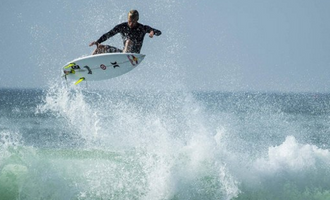 Kolohe Andino Heats Engines