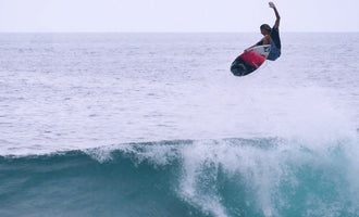 A Young Phenom Surfing Indonesia