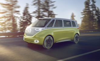 VW Unveils the Electric AWD Version of Their Iconic Surf Van