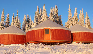 Hotels Are Boring, and Your Tent Is Rickety—Stay in a Yurt Instead