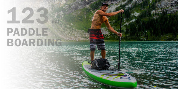 Calories burned paddle boarding