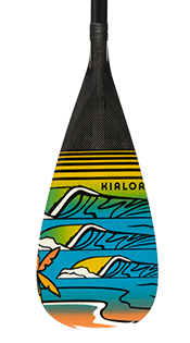 Hulu Carbon Stand Up Race Paddle Hi-Vis