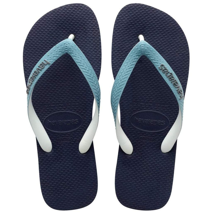 6239305b6be73f Havaianas Apparel Women s 6   Navy Mineral Top Mix Sandal Navy Blue Mineral  Blue