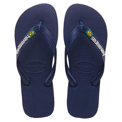 Havaianas Apparel Women's 9/10 - Men's 8 / Navy Brazil Logo Sandal Navy