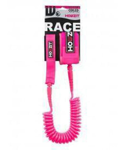 Howzit Accessories Pink 9' Coiled Ankle Leash