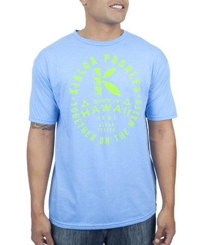 Kialoa Apparel Light Blue Heather / Medium Men's Hanau Tee