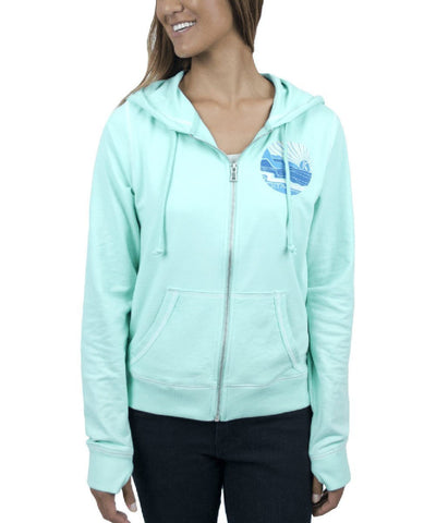 Kialoa Apparel Small / Mint Women's Pukana Hoodie