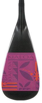 Kialoa Outrigger Paddles Orchid / 45 Hulu Hybrid Single Bend Outrigger Paddle - Limited Edition