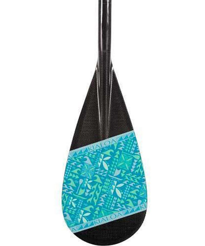 Kialoa Stand Up Paddles Large 100 sq in / Lagoon / 70 Hulu Double Bend Carbon Stand Up Race Paddle 2016