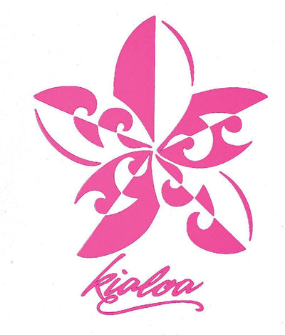 Kialoa Sticker Pink Flower Sticker