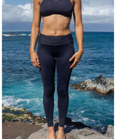 Makena Surf Wear Apparel Black / Small Gypsea Legging