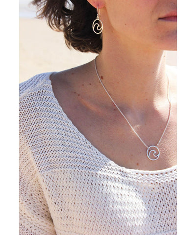 Ocean Love Designs Earrings Wave Earrings