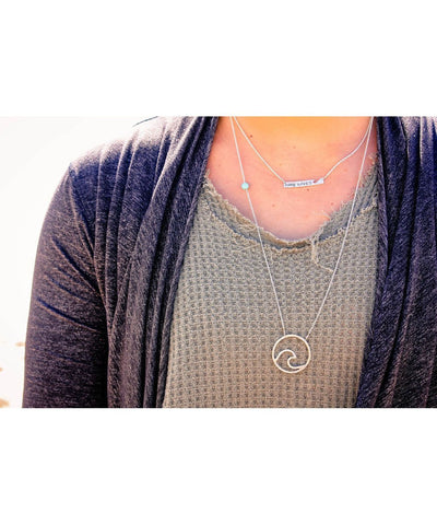 Ocean Love Designs Necklace MAKE WAVES Necklace