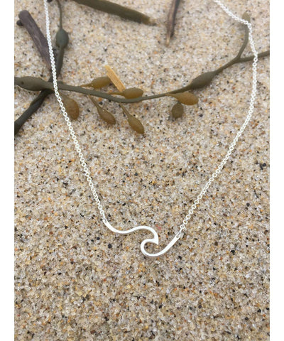 Ocean Love Designs Open Wave Necklace
