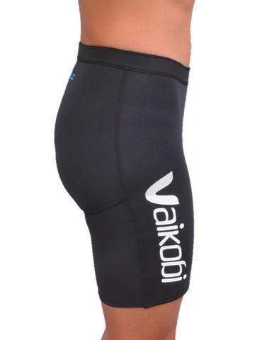 Vaikobi APPAREL Black/Cyan / Small VCOLD FLEX PADDLE SHORTS UNISEX