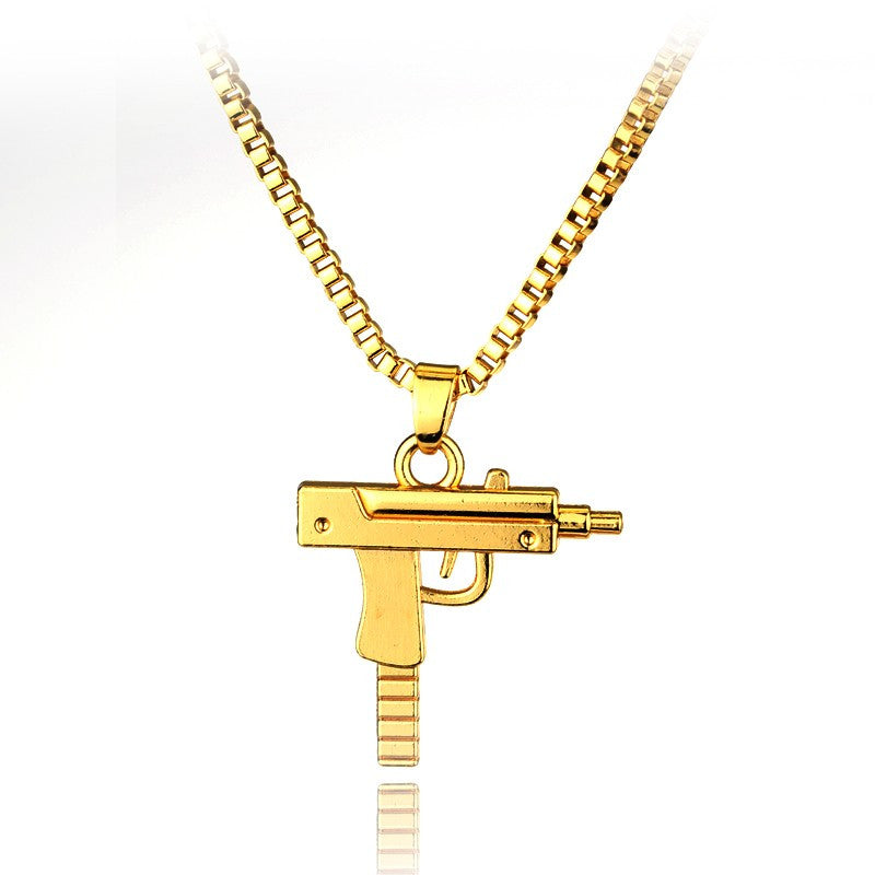 2018 hot new lil uzi 18k gold plated pendant with quality gold 2018 hot new lil uzi 18k gold plated pendant with quality gold chain mozeypictures Gallery