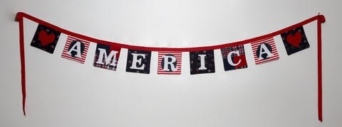 4th of July ~ America bunting