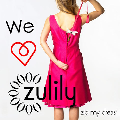 Zip My Dress and Zulily