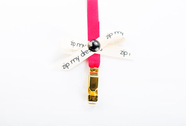<strong>zip my dress<sup>®</sup></strong> Pink ribbon