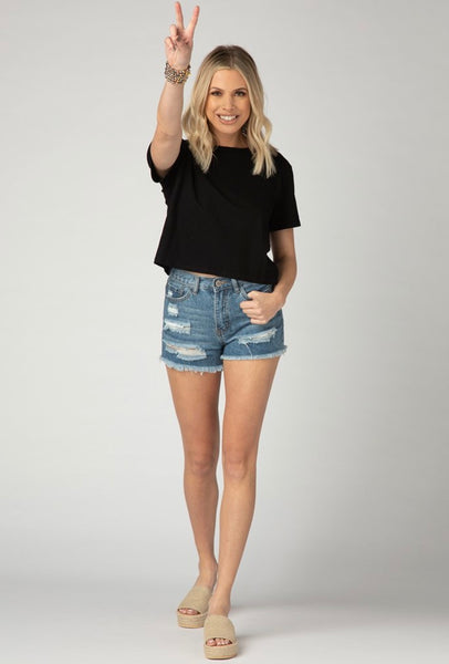 Andy Cropped Tee